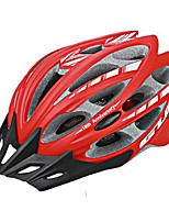 Sports Unisex Bike Helmet 30 Vents Cycling Cycling PC EPS Red Pink Black