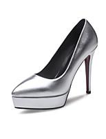 Women's Heels Spring Summer Fall Winter Club Shoes PU Wedding Office & Career Dress Stiletto Heel