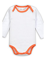 Baby Casual/Daily Sports Holiday Solid One-Pieces,Cotton Spring Fall Long Sleeve