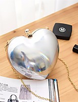 Women PVC Formal Event/Party Wedding Outdoor Clutch Gold Black Silver Pink
