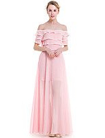 Fashion Wild The Word Collar Solid Color Tube Slim Big Swing Long Skirt Holiday Home Party Get Together Dress