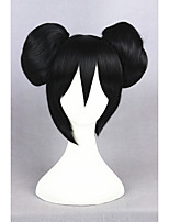 court amour noir direct nico yazawa 12inch synthétique animés ponytails wigcs-257a cosplay