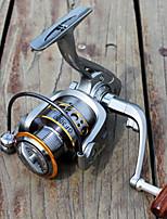 Molinetes de Pesca Molinetes Rotativos 5.2:1 12 Rolamentos Trocável Pesca de Mar-GF6000