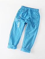 Pantalons Garçon Décontracté / Quotidien Couleur Pleine Hiver