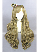 à long amour blonde vague en direct synthétique 28inch cosplay anime Minami wigcs-258a