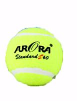 Tennis Tennis Balls Wearproof High Elasticity Durable Performance Leisure Sports Rubber