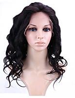 8a фронта шнурка человеческих волос париков свободная волна 150% плотности Бразильские волосы девственницы бесклеевой полные парики шнурка