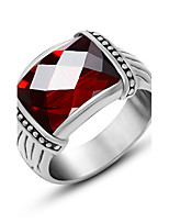 Special Offer New Arrival Bridal Sets Cute Jewelry Huge Natural arnet Ring Class arnet Male Red Stone Huge Ring