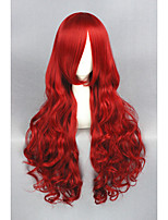 Long Wave Red Disney The Little Mermaid 32inch Anime Cosplay wig CS-193A