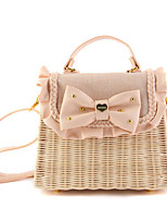 Women Straw Formal Casual Event/Party Wedding Outdoor Office & Career Shoulder Bag