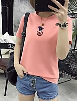 Sign 2017 summer new wild bottoming shirt student sweet milk silk T-shirt shirt