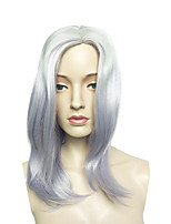 Capless Long Cosplay Wig Anime Purple Synthetic Wig