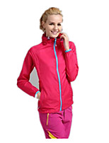 Women's Tops Camping / Hiking Breathable Thermal / Warm Spring Summer Fall/Autumn Yellow White Red Pink Lake Blue