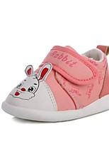 Girls' Sneakers Spring Fall Comfort Canvas Outdoor Casual Flat Heel Hook & Loop Lace-up Walking