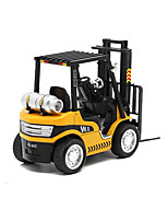 Construction Vehicle Pull Back Vehicles 1:32 Metal Yellow