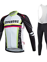 2016 malciklo white long sleeve cycling jersey men winter warm and windproof cycling clothing ciclismo jersey