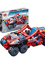Children 's Puzzle Assembled Building Blocks Toys Hi - Tech Pull Back Car Racing Model 6964