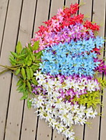 1 Branch Plastic Others Wall Flower Artificial Flowers Flower Rattan Random Color