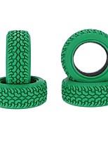 Общие характеристики RC Tires покрышка RC Автомобили / Багги / Грузовые автомобили Красный Черный Зеленый Резина pet Пластик 4штк