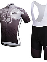 AOZHIDIAN Summer Cycling Jersey Short Sleeves BIB Shorts Ropa Ciclismo Cycling Clothing Suits #AZD135