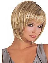 популярный блондинка цвет прямые париков европейские синтетические парики