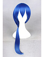 Medium Long Blue The kingdom of Sleeping and 100 princes/Seyi 26inch Anime Cosplay Wig CS-273E