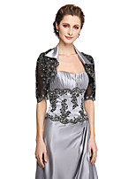 Women's Wrap Shrugs Lace Wedding Appliques
