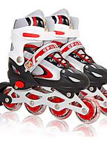 Kid's Inline Skates AdjustableBlue/White/Blushing Pink