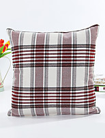 1 pcs Cotton Pillow Case,Geometric Striped Traditional/Classic Modern/Contemporary