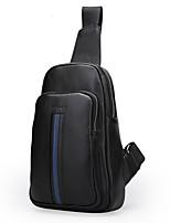 Men Cowhide Casual Sling Shoulder Bags