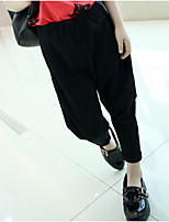 Girls' Casual/Daily Solid Pants-Cotton Summer Spring Fall