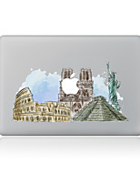 For MacBook Air 11 13/Pro13 15/Pro With Retina13 15/MacBook12 The Statue Of Liberty Decorative Skin Sticker