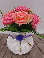 1 Une succursale Fleur séchée Roses Fleur de Table Fleurs artificielles