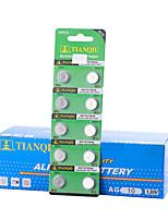 Tmmq ag10 монета&Щелочная / щелочная батарея кнопочной ячейки 1.55v 40 pack