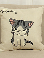 1 Pcs  Lovely cat  45cm*45cm  Decorative Pillow Cover