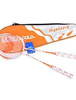 Raquetes para Badminton Durabilidade Liga de Alúminio 1 Peça para Interior Ao ar Livre Espetáculo Praticar Esportes de Lazer-#
