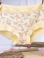 Print Floral Shaping PantiesCotton