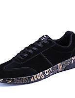 Men's Sneakers Spring Fall Comfort Pigskin Outdoor Office & Career Athletic Casual Walking