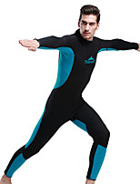 Sports Men's 3mm Full Wetsuit Breathable Quick Dry Anatomic Design Compression Thick Neoprene Diving Suit Long Sleeve Diving Suits-Diving