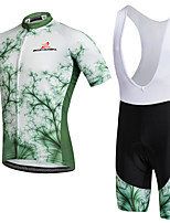 AOZHIDIAN Summer Cycling Jersey Short Sleeves BIB Shorts Ropa Ciclismo Cycling Clothing Suits #AZD141