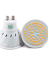 7W GU10 Spot LED 72 SMD 2835 500-700 lm Blanc Chaud Blanc Froid Blanc Naturel Décorative V 1 pièce