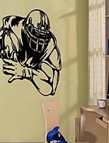 Sport Stickers muraux Autocollants avion Autocollants muraux décoratifs,Vinyle Matériel Décoration d'intérieur Calque Mural