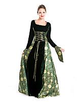 Une Pièce/Robes Gothique Doux Lolita Classique/Traditionnelle Punk Princesse Rétro Elégant Victorien Rococo Cosplay Vêtrements Lolita
