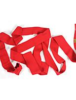 твердый красный хлопок пот-капиллярный / износостойкий унисекс бокса натяжной повязки