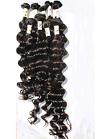 8A Grade Peruvian Virgin Hair Deep Wave 100% Peruvian Human Hair Weave Bundles 5Bundle/250g