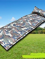 Moistureproof/Moisture Permeability Inflated Mat Army Green Hiking Camping Traveling