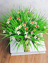 1 Филиал Пластик Другое Букеты на стол Искусственные Цветы 30