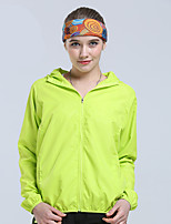 Women's Tops Camping / Hiking Breathable Thermal / Warm Spring Summer Fall/Autumn Green Red Pink