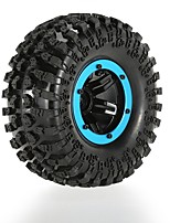 Original Austar AX-3021RD Air Pneumatic Beadlock Wheel Rim and Tire for 1/10 RC4WD D90 Axial SCX10 Crawler Truck