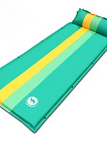 Moistureproof/Moisture Permeability Inflated Mat Yellow Green Blue Hiking Camping Traveling